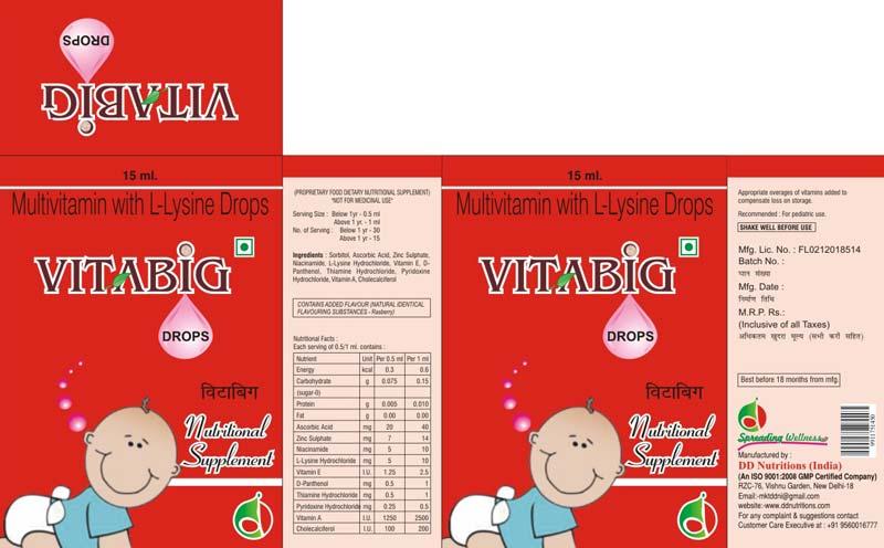 Vitabig Drops
