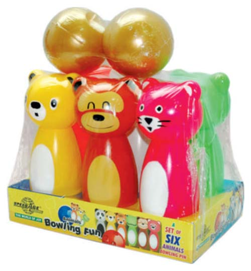 Animal Bowling Toys