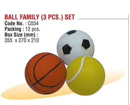 Ball Family Set