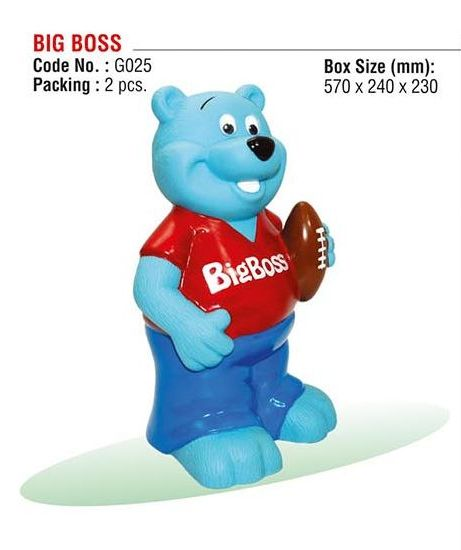 Big Boss Teddy Bank