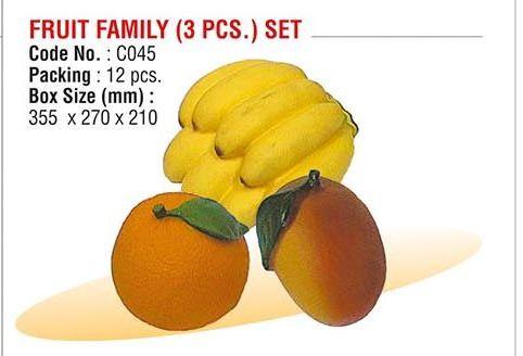 Fruit Family (3 PCS) Set
