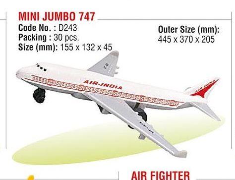 Mini Jumbo 747 Plane