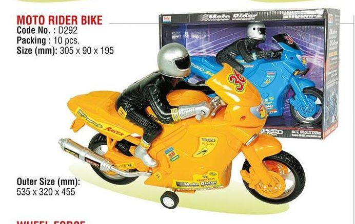 Moto Rider Bike