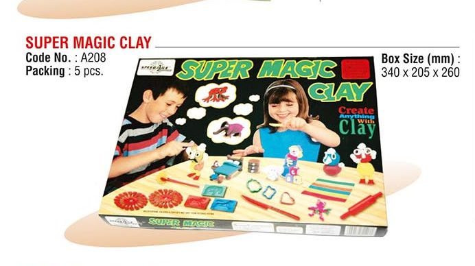 Super Magic Clay
