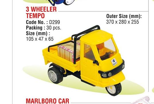 Three Wheeler Tempo