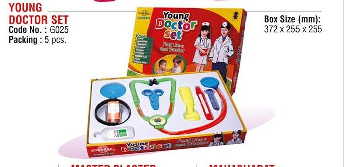 Young Doctor Set