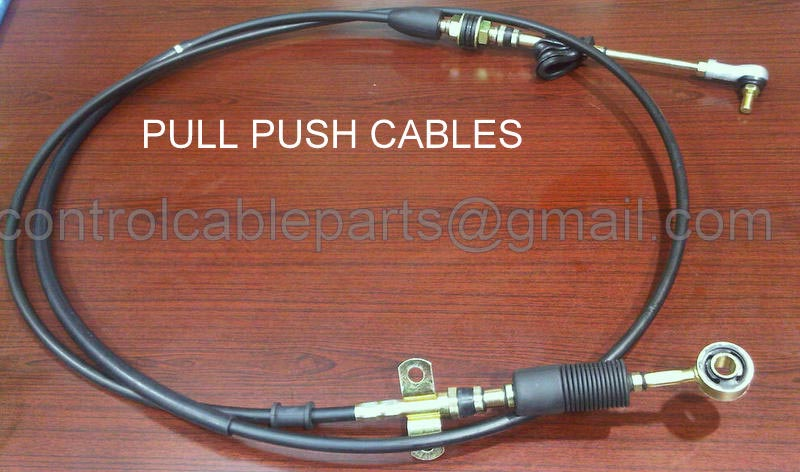 Automotive spare parts control cables