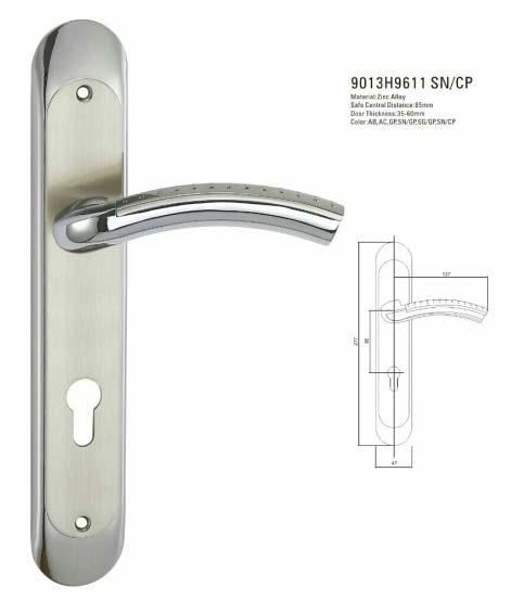 Door Handles (9013H9611 SN-CP)