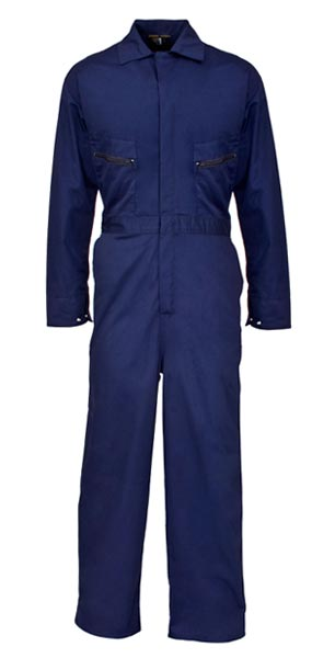 Safety Blue Coverall