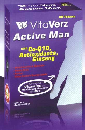 Vitaverz Active Man Tablets