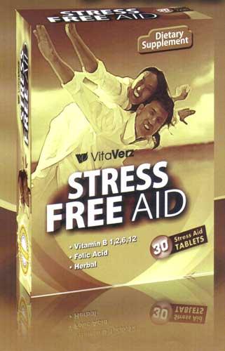 Vitaverz Sress Free Aid Tablets