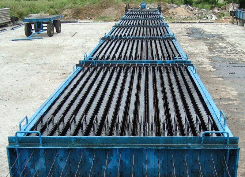 Steel Wall Form : Precast machinery concrete plant suppliers from