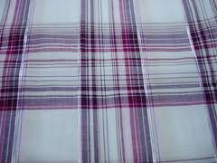 Lurex Check Fabric  01