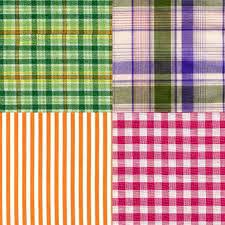 Madras Check Fabric 003