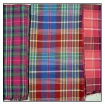 Madras Check Fabric 004