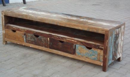 Recycled Wood Media Unit