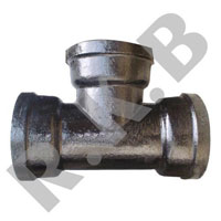 Flanged And Socketed Cast Iron (A/Socketed Tees)