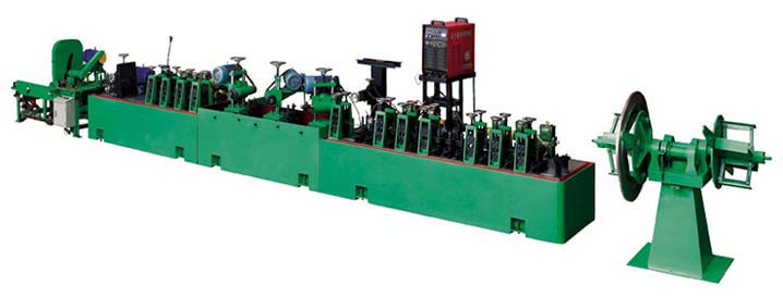 Decorative Pipe & Tube Making Machine