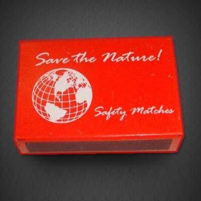 Waxed Matchbox
