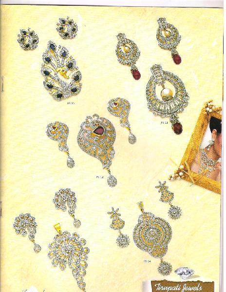 Diamond Pendant Set 02