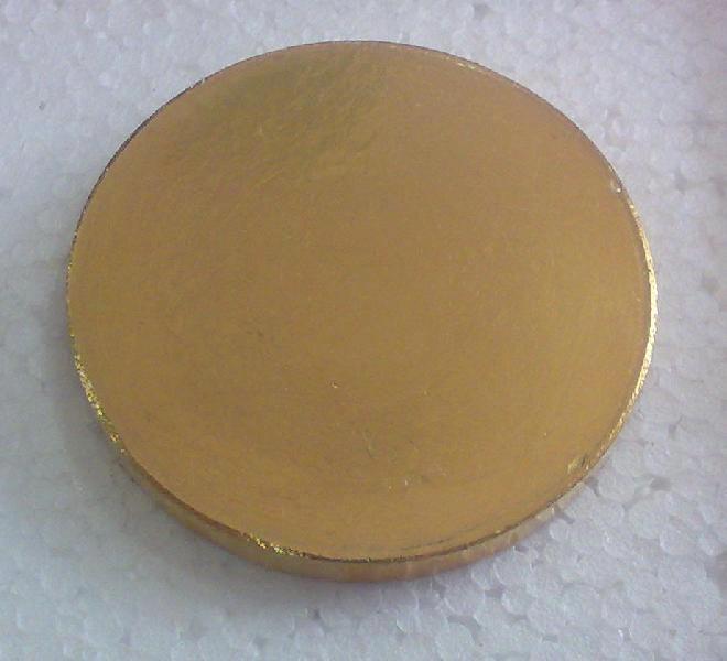 Gold Sputtering Target 01