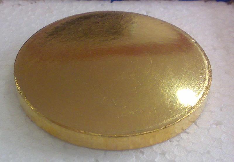 Gold Sputtering Target 02