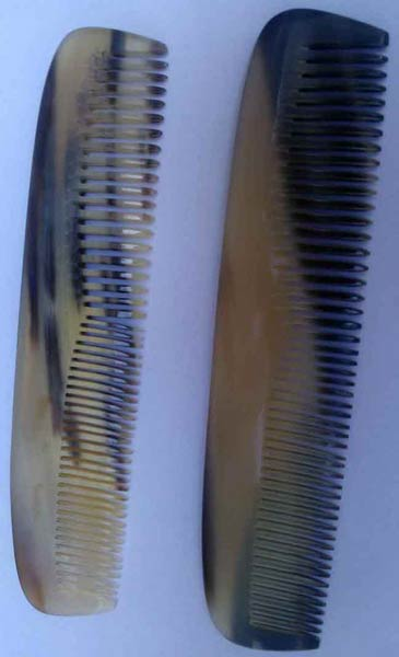 Horn and Bone Combs