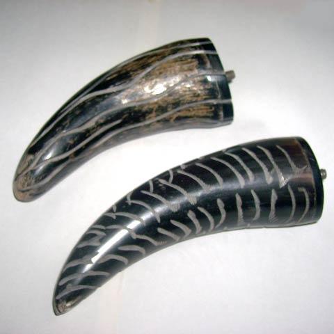 Horn and Bone Door Handle 06