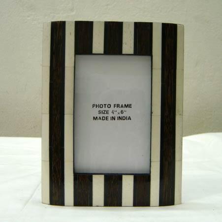 Horn and Bone Photo Frame (6022)