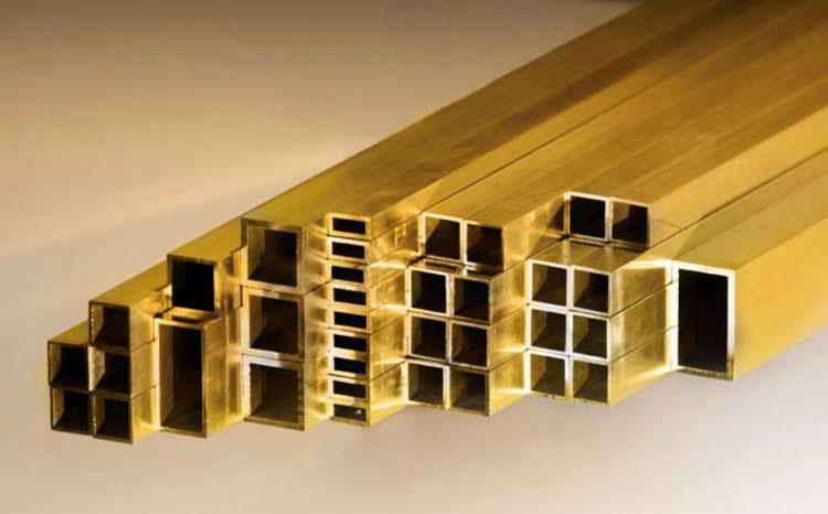 Rectangular Brass Tubes
