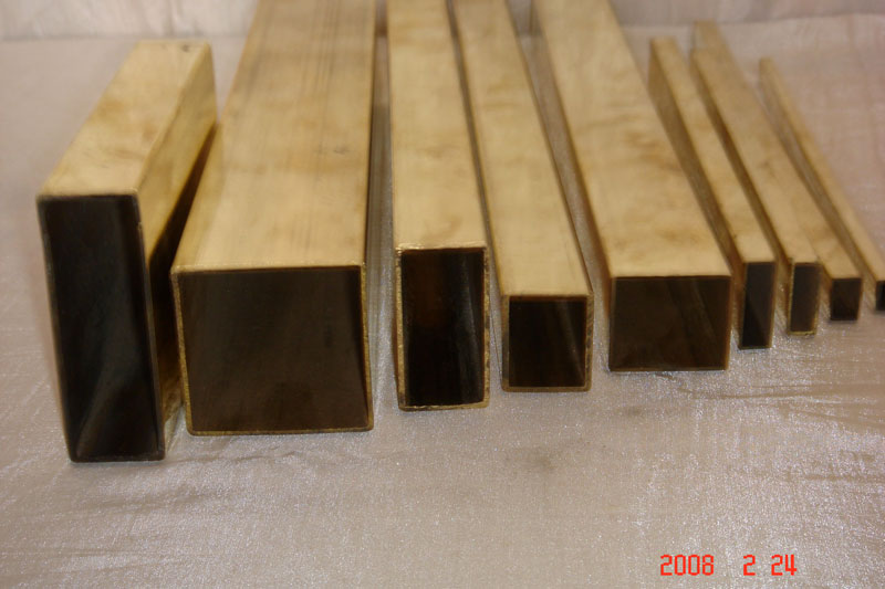 Square Brass Tubes