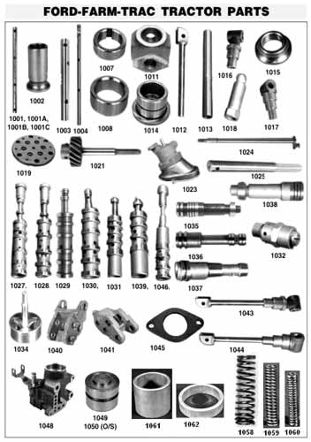 Ford Tractor Parts Manufacturers