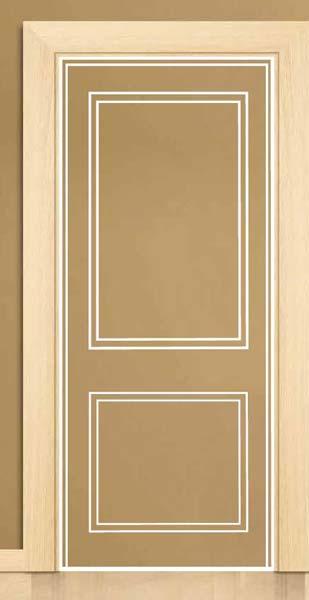 Cladded Door Frame