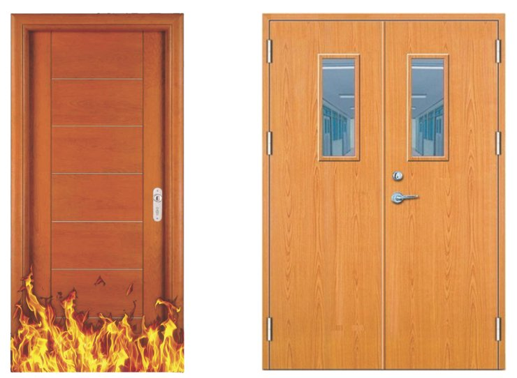 Fire Retardant Doors Manufacturer Supplier In Umbergaon
