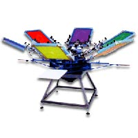 4 Color Screen Printing Machine