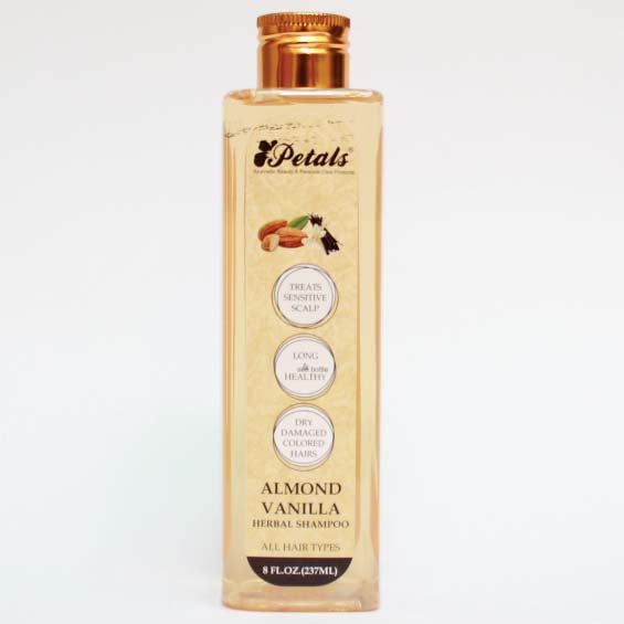 Petals Almond Vanilla Herbal Shampoo