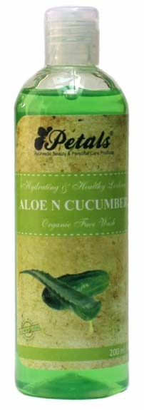Petals Aloe & Cucumber Organic Face Wash