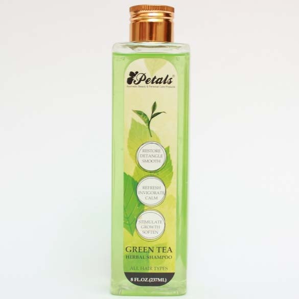 Petals Green Tea Herbal Shampoo