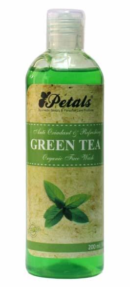 Petals Green Tea Organic Face Wash