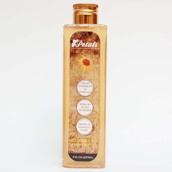 Petals Neem Arnica Herbal Shampoo