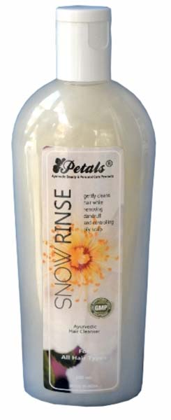 Petals Snow Rinse Hair Cleanser