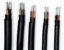 PVC Insulated Four Core Aluminum Round Cable