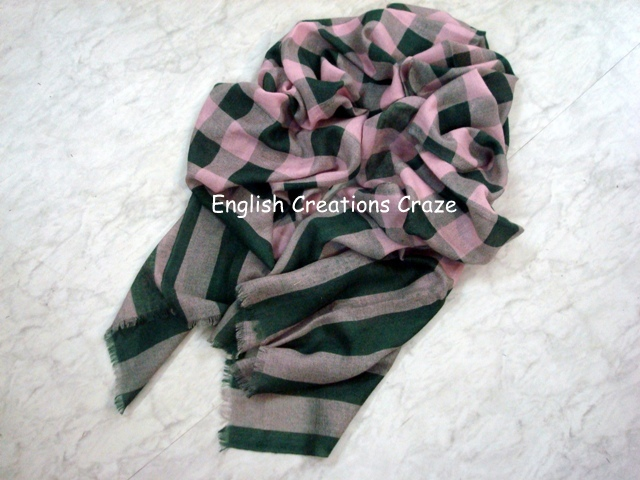 Cashmere Silk Scarf - EC-3090