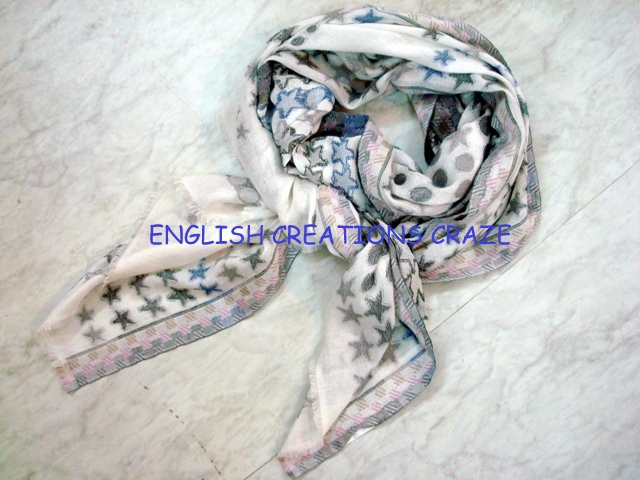 Silk Cashmere modal jacquard scarves  EC-6072-B