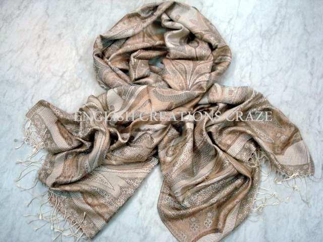 Silk Jamavar Shawls (EC-3657)