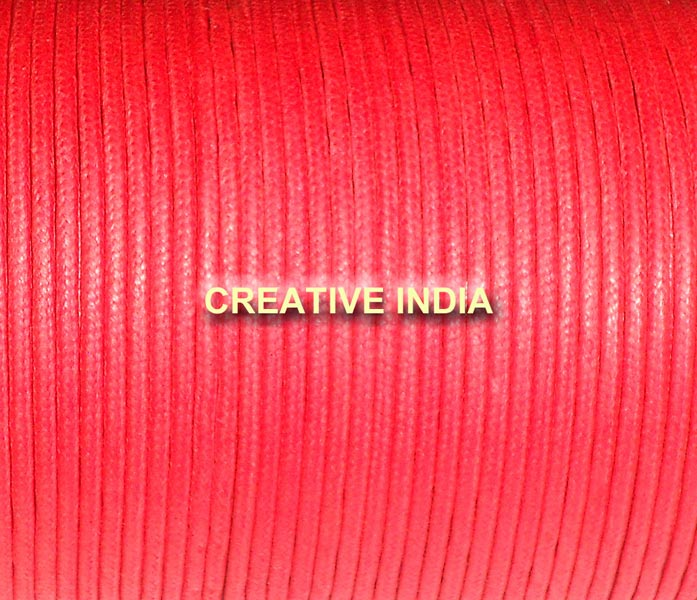 Regular Color Wax Cotton Cords