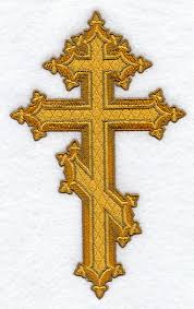 Embroidered Orthodox Cross