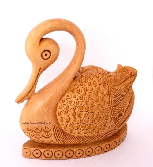 Wooden Handicraft Statue