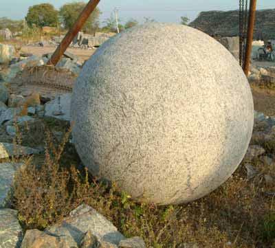 Granite Spheres 02