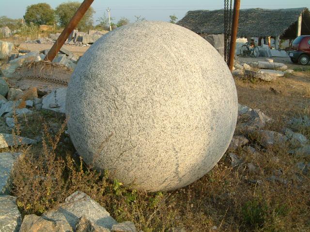 Granite Spheres 04